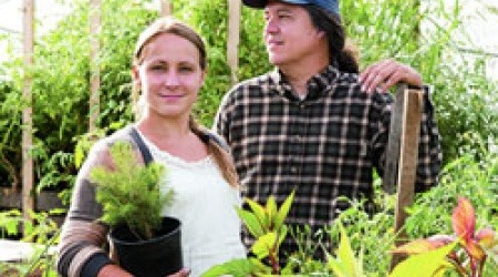 Emily Jodka & Bleu Grijyalva, New Urban Farmers co-founders